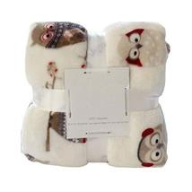 PANDA SUPERSTORE Flannel Throw Blanket Living Room Summer Blanket OWL, 200x150 c