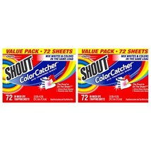 Shout Color Catcher 72 Count Pack of 2