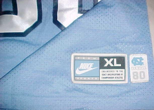 Lawrence Taylor #58 North Carolina Tar Heels NCAA ACC Blue Throwbacks Jersey XL image 7