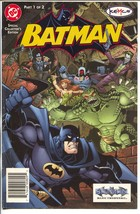 Batman Kemco Giveaway#1 2002-DC-video game promo-not in price guide-FN - $47.92