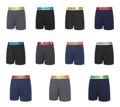 NFL Men's Title Knit Boxer Shorts Team Apparel Sleepwear Football Licensed NEW