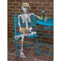 Prextex Tall Posable Halloween Skeleton- Full Body Halloween Skeleton wi... - $1.184,59 MXN
