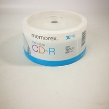 Memorex CD-R 30 Pack 52x 700 MB 80 Minutes 30 Pack New - $9.99