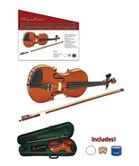 Spectrum AIL 201V Full Size Music Educator Approved Violin Pack with Cas... - $54.10