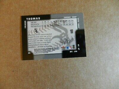 2004 FLEER LEGACY FRANK THOMAS WHITE SOX #11