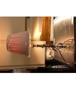 Antique Table Lamp With lampshade VTG Vintage  - $29.03