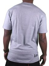 Dissizit! Mens English D Gun Show Heather Grey T-Shirt t-shirt image 3