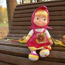 Doll Masha Soft Toy 11-inch Speaks English 7 Phrases and 1 Song, Perky H... - $57.48