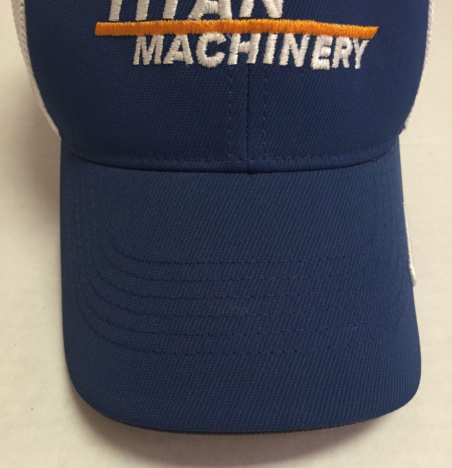 Titan Machinery Hat L/XL Nike Golf Cap Construction North Dakota Agriculture ND
