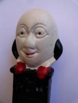 Humpty Dumpty The Egg Head Cast Iron Small Bank Reproduction - $18.99