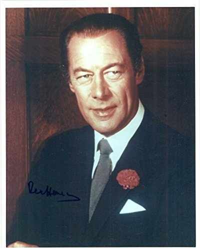 Primary image for Rex Harrison (d. 1990) Signed Autographed Glossy 8x10 Photo - COA Matching Holog