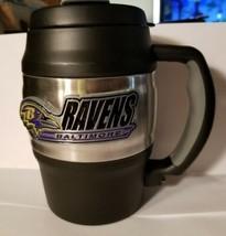 NFL Baltimore Ravens Heavy Duty Insulated Mug / Mini Keg / Coffee Mug - $29.39