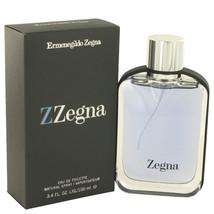 Z Zegna Eau De Toilette Spray 3.3 Oz For Men  - $62.04