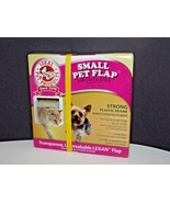 "Ideal Pet Products Small Pet Door Flap Strong Lexan Plastic 6¼"" x 6¼"" Ne... - $22.76"