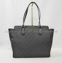 Michael Kors Dee Dee Large Convertible Tote/Shoulder Bag in Signature MK. Black - $249.00