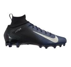 Nike Vapor Untouchable Pro 3 Mens Football Cleats Black Blue 917165-004 - $54.95