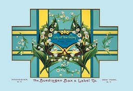Lily of the Valley Soap by Buedingen Box & Label Co. - Art Print - $19.99+