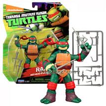 Year 2015 Teenage Mutant Ninja Turtles TMNT 5 Inch Tall Figure - RAPHAEL - $34.99