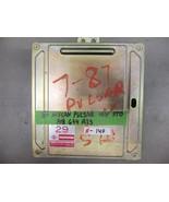 87 Nissan Pulsar 16V Std ECU # A18-674 A25 - $111.15