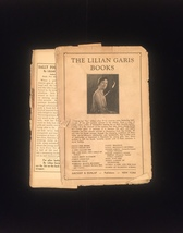 """1930 """"Sally Found Out"""" by Lilian Garis frame-ready dust jacket (no book) image 2"""