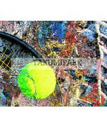 Colorful Tennis Decor,  Photo Art Print, Sports Wall Decor, Home Decor, ... - $15.88+
