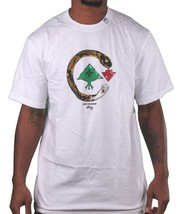 L-R-G LRG Cold Blooded Snake Tree logo Black or White T-Shirt NWT