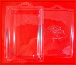 STAR WARS,STAR CASE STANDARD(TWO PIECE PROTECTIVE SHELLS FOR CARDED FIGU... - $18.90