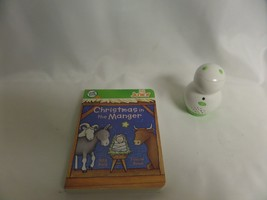 CHRISTMAS IN THE MANGER LEAP FROG TAG JUNIOR BOARD BOOK WITH TAG  READER - $20.33