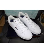 Fila Reunion White/Navy/Red Athletic Shoe Size 9.5 Women's NEW - $88.00