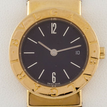 Bulgari Bvlgari Women's Diagono Tubogas 18k/SS Quartz Watch w/ Date BB 26 GSCD - $2,969.99