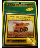 Railway Express Miniatures 2101 100 Ton Lectra Haul Mine Truck - $12.95