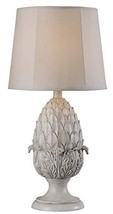 Kenroy Home 32487RW Artichoke Outdoor Table Lamp, Roman White Finish, 30... - $115.62