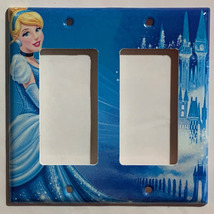 Cinderella Night sparkle Light Switch Power Outlet wall Cover Plate Home decor image 4