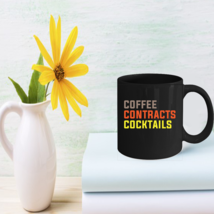 Funny Drink Gifts Coffee Contracts Cocktail Mug - $15.95