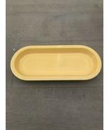 Vintage Fiesta Original Yellow Utility Tray Celery Dish Plate - $25.00