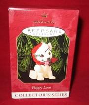 Hallmark Ornament ~ 1999 Puppy Love - $5.94