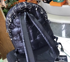 BRAND NEW AUTH CHANEL RUNWAY BLACK COCO NEIGE QUILTED BACKPACK  image 7