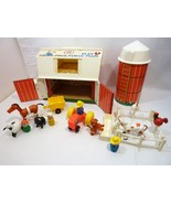 Vitnage 1972 Fisher Price Little People Farm 915 Complete  - $132.90