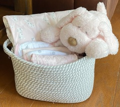 Penelope Puppy Baby Gift Basket - $69.00