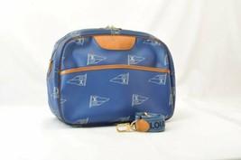 LOUIS VUITTON America's Cup Sac Cowes Shoulder Bag Blue LV Auth rd052 Peel - $943.73