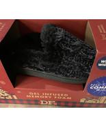 DF by Dearfoams Scuff Slipper Women's Small 5-6 Wide Memory Foam Indoor ... - $14.45