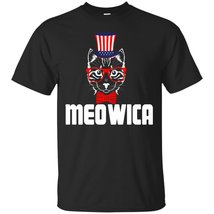 Funny Meowica Freedom Cat T-Shirt - 4th of July Shirt - ₨1,622.97 INR+