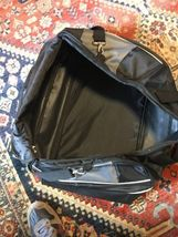 Samsonite Duffle Bag 21 inch Black Gray Travel With Shoulder Strap image 9