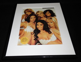Girls of Wedding Crashers 2005 Framed 11x14 Bra Lingerie Photo Display  - $22.55