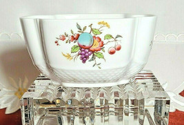 Vintage SPODE Pattern J172 Fruit & Floral, Embossed OPEN SUGAR BOWL