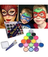 Face Paint Kit for Kids by Meidu| Non-Greasy Face Painting Set Complete ... - $17.80