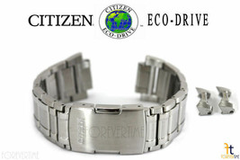 Citizen Eco-Drive AT4000-53 Stainless Steel Watch Band Strap AT4008-51 A... - $118.96