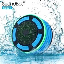 SoundBot IPX7 Waterproof 5W Bluetooth Wireless Shower Speaker with 8Hrs ... - $15.72 CAD+