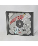 Night Trap (Sega CD, 1992) - Discs ONLY - Authentic Tested Working - Shi... - $33.65
