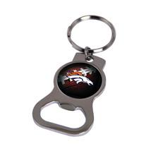 Non Metal Nfl Denver Broncos Bottle Opener Key Ring By Rico Industries (Length=1 - $11.62